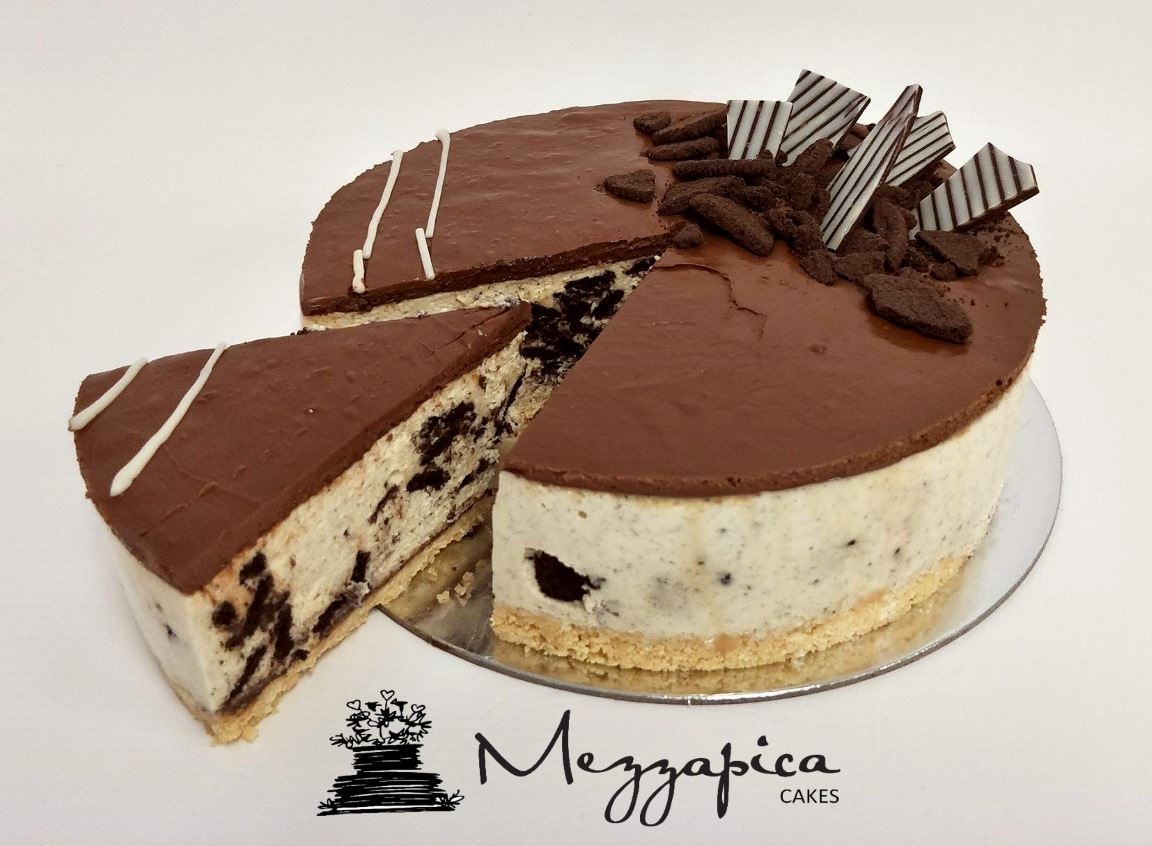 oreo nutella cheesecake mezzapica cakes. Black Bedroom Furniture Sets. Home Design Ideas
